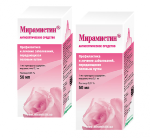 Лечение молочницы мирамистином