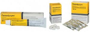 Лечение кандидоза пимафуцином