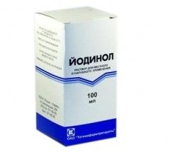 Применение йодинола при молочнице