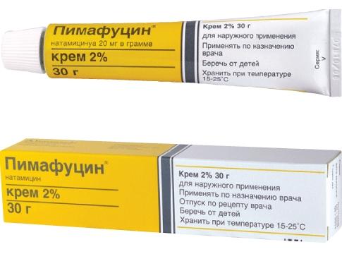 Пимафуцин крем от молочницы Лечение и профилактика молочницы